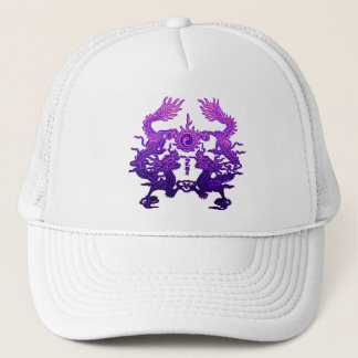 CHINESE NEW YEAR Purple Dragons Trucker Hat