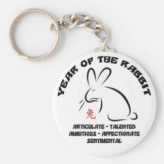 Chinese New Year Rabbit Keychain