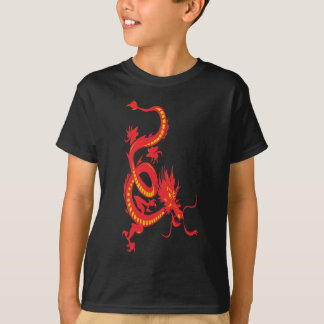 Chinese New Year Red Dragon T-Shirt