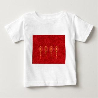 Chinese New Year Red Lanterns Illustration Baby T-Shirt