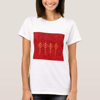 Chinese New Year Red Lanterns Illustration T-Shirt