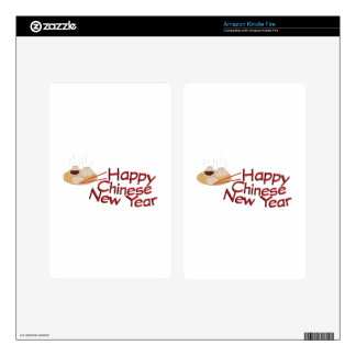Chinese New Year Kindle Fire Skins