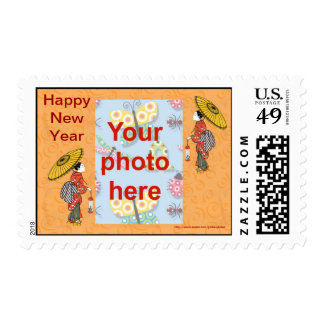 Chinese New Year Vietnamese New Year Tet add photo Postage Stamps