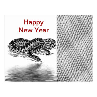 Chinese New Year Vietnamese Tet Year of the snake Post Cards