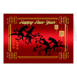 Chinese New Year Year Of The Monkey - 2016 Monkey Greeting Card