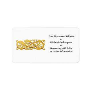 Chinese New Year - Year Of The Snake 2013 Label at Zazzle
