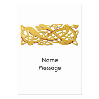 Chinese New Year - Year Of The Snake 2013 Large Business Card