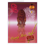 Chinese New Year, Year Of The Tiger Cards