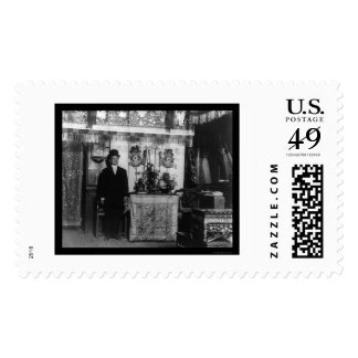 Chinese New Year's Feast in Chinatown 1916 Stamps