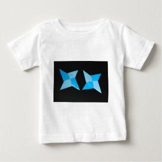Chinese ninja throwing stars baby T-Shirt