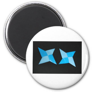 Chinese ninja throwing stars magnet
