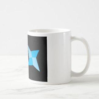 Chinese ninja throwing stars mugs