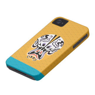 Chinese Opera Make Up Iphone4 Case