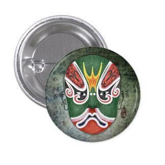 Chinese Opera Masks - Zheng Lun Button