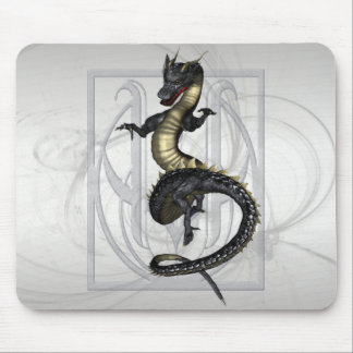 Chinese Ornamental Dragon Mouse Pad