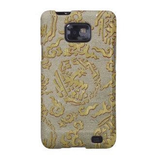 Chinese ornamental textile pattern samsung galaxy SII case