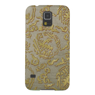 Chinese ornamental textile pattern case for galaxy s5