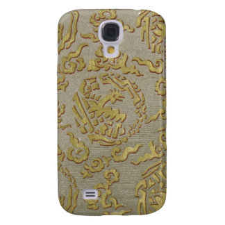 Chinese ornamental textile pattern samsung galaxy s4 cover