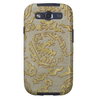 Chinese ornamental textile pattern samsung galaxy s3 case