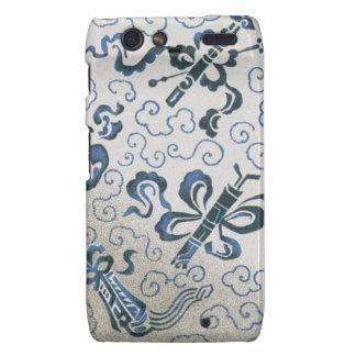 Chinese ornamental textile pattern droid RAZR cases
