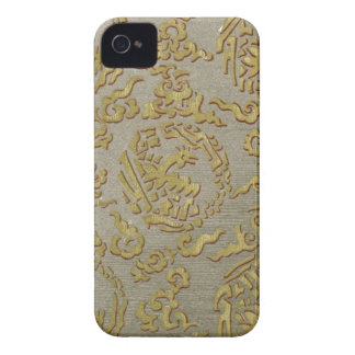 Chinese ornamental textile pattern iPhone 4 covers