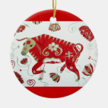 Chinese Ox Astrology Ornament