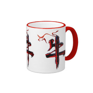 Chinese OX New Year Ringer Mug