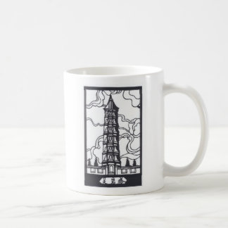 Chinese Pagoda Coffee Mug