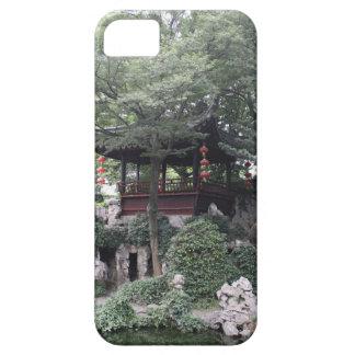 Chinese Pagoda Gazebo Along River Bank iPhone SE/5/5s Case
