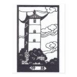 Chinese Pagoda Post Card