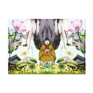 Chinese Painting Counterfeit #17 Canvas Print