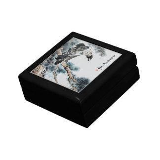 Chinese Painting Eagle Premium Gift Box