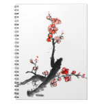Chinese painting of flowers, plum blossom notebooks