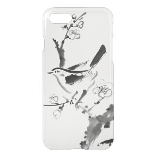 Chinese painting , plum blossom and bird iPhone 7 case