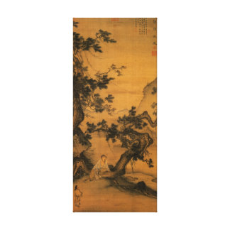 Chinese Painting Replica on Wrapped Canvas