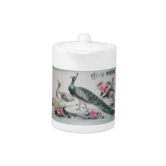 Chinese painting Teapot