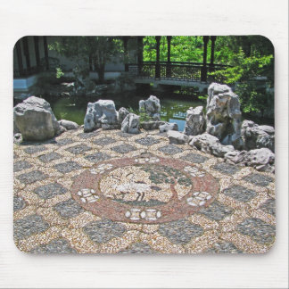 Chinese palace and Scholar's Garden,Staten Island Mouse Pad