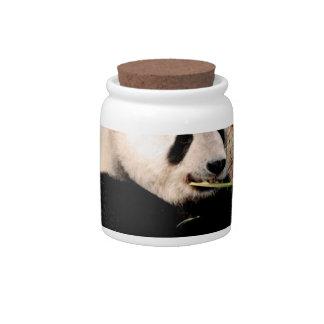 Chinese Panda Candy Jar