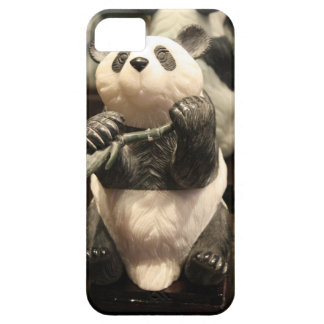 Chinese Panda Hand Carved Jade Stone Statue iPhone SE/5/5s Case