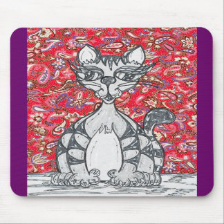 Chinese Paper Cat 1 Mousepad