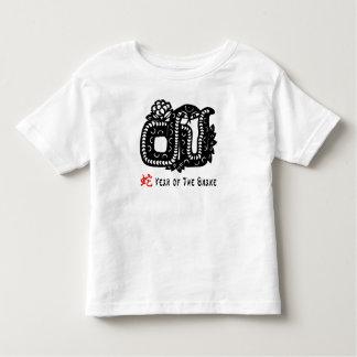 Chinese Paper Cut Snake Toddler T-shirt