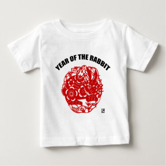 Chinese Paper Cut Year of The Rabbit T-Shirt