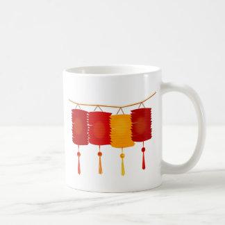 Chinese Paper Lanterns Coffee Mug