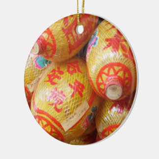 Chinese Paper Lanterns Christmas Tree Ornaments