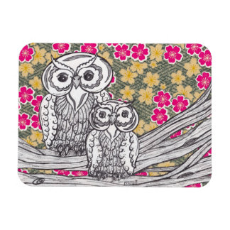 Chinese Paper Owls 12 Magnet