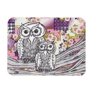 Chinese Paper Owls 13 magnet