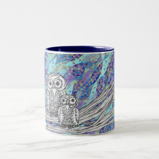Chinese Paper Owls 2 Mug