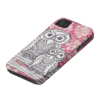 Chinese Paper Owls 4 BlackBerry Bold Cases