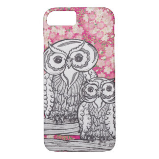 Chinese Paper Owls 4 ID iPhone 7 case