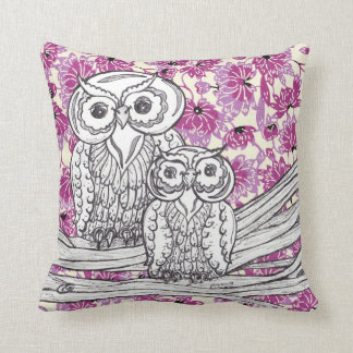 Chinese Paper Owls 7 Cushion Pillow